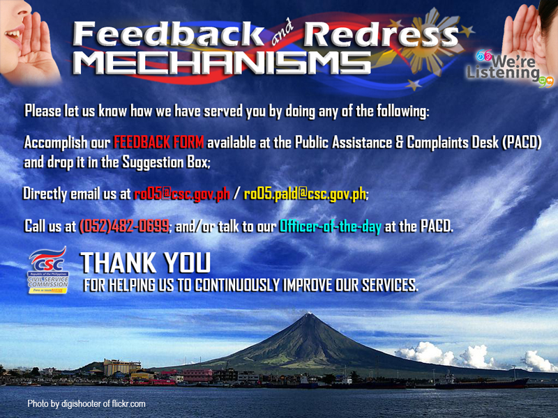 feedback redress
