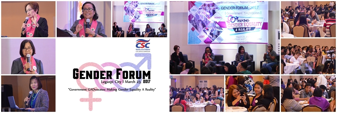 2017 CSC RO V Gender Forum